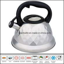Nylon Handle Flower Pattern Induction Whistling Kettle Kitchenware